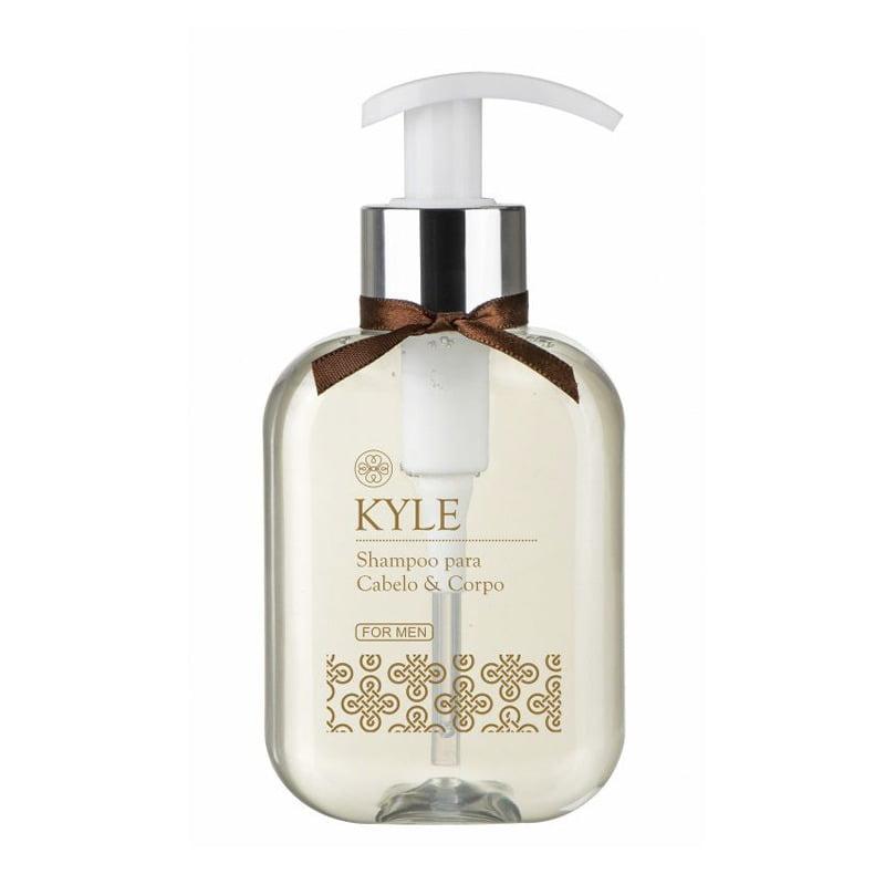 Shampoo Masculino Kyle para Cabelo e Corpo 260ml