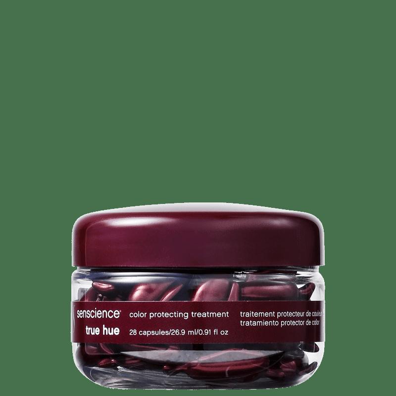 Cápsulas de Tratamento para Cabelos Coloridos True Hue Color Protecting Senscience