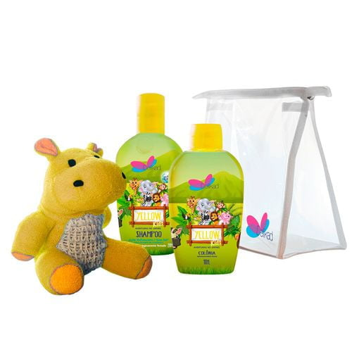 Kit Safari Hyppo Yellow Kids Delikad