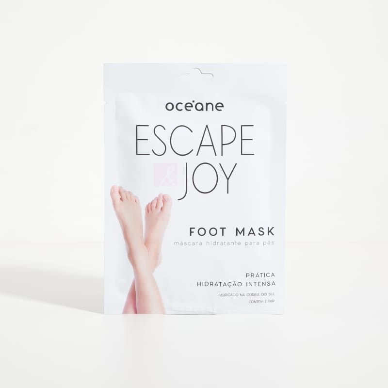 Máscara Hidratante para Pés Escape & Joy Foot Mask Océane