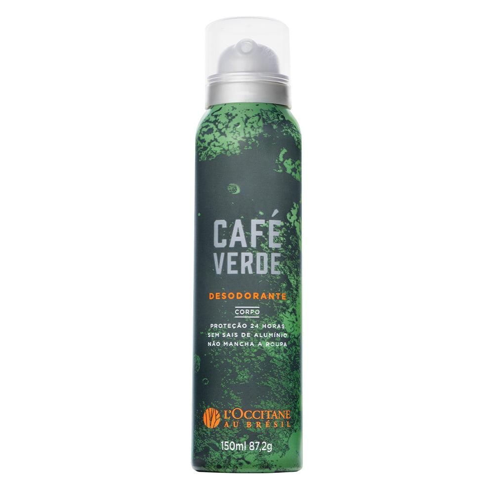Desodorante Corporal Café Verde L'Occitane Au Brésil