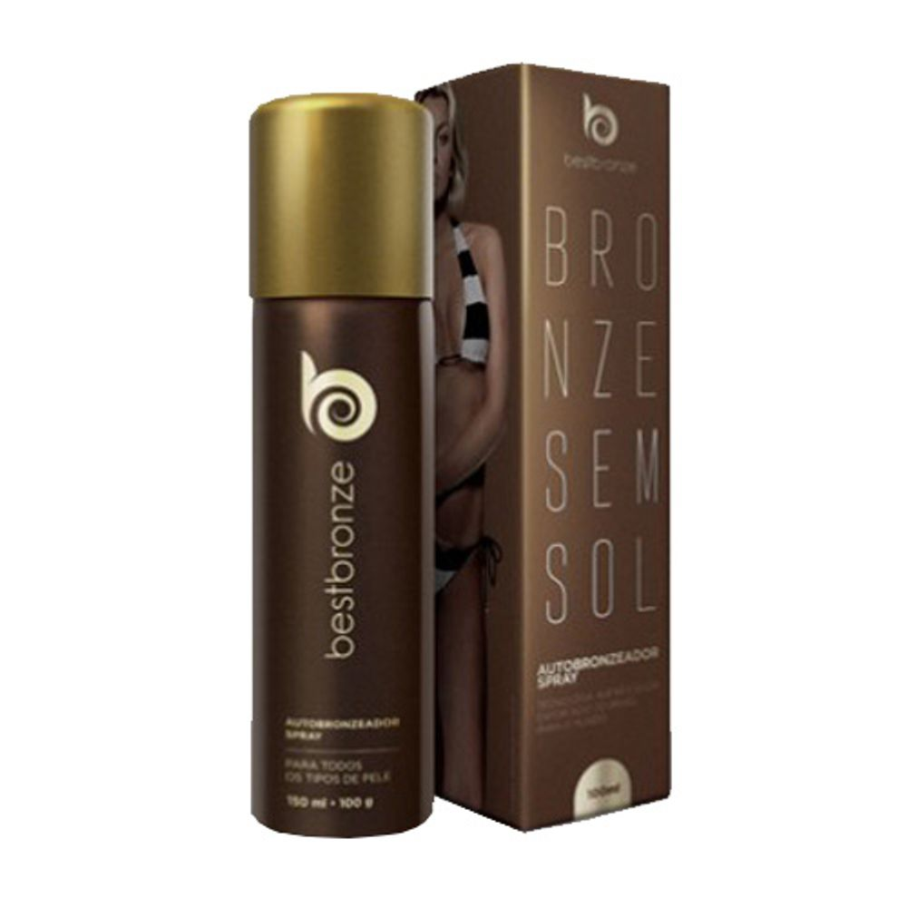 Autobronzeador Spray Best Bronze Sem Sol