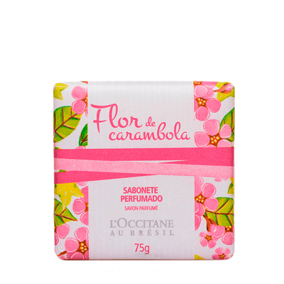 Sabonete Flor de Carambola L'Occitane Au Brésil 75g