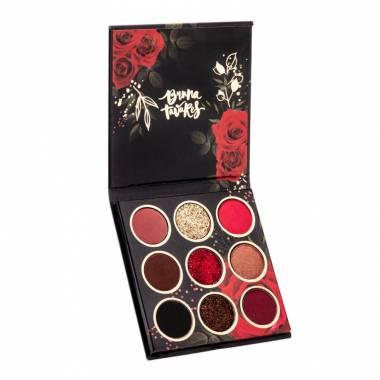 Paleta de Sombras Red Rose Bruna Tavares