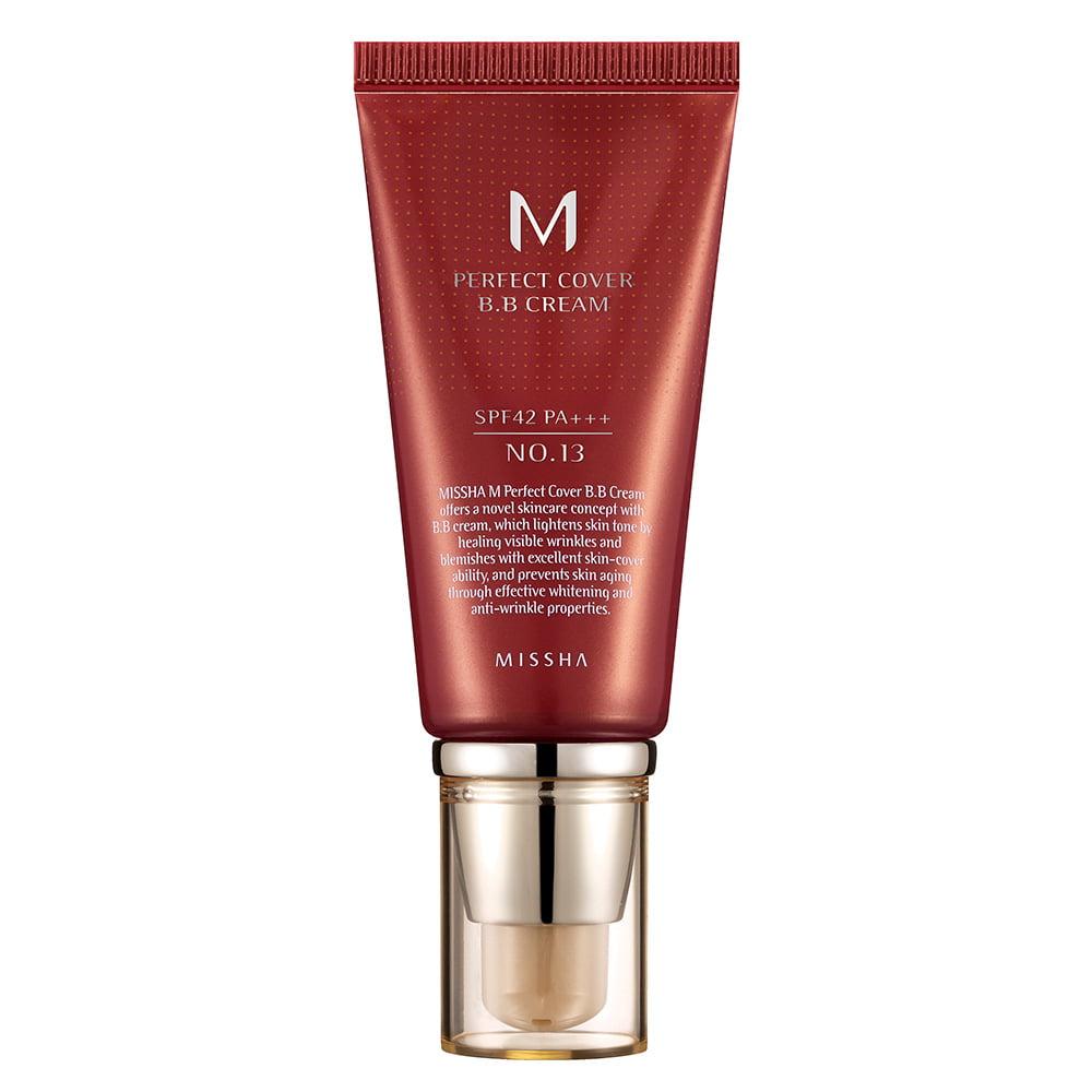 Base Líquida M Perfect Cover BB Cream Missha SPF 42 P+++ 50ml