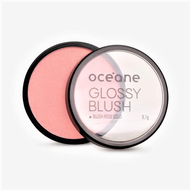 Blush Cintilante Glossy Rose Gold Océane 8,1g