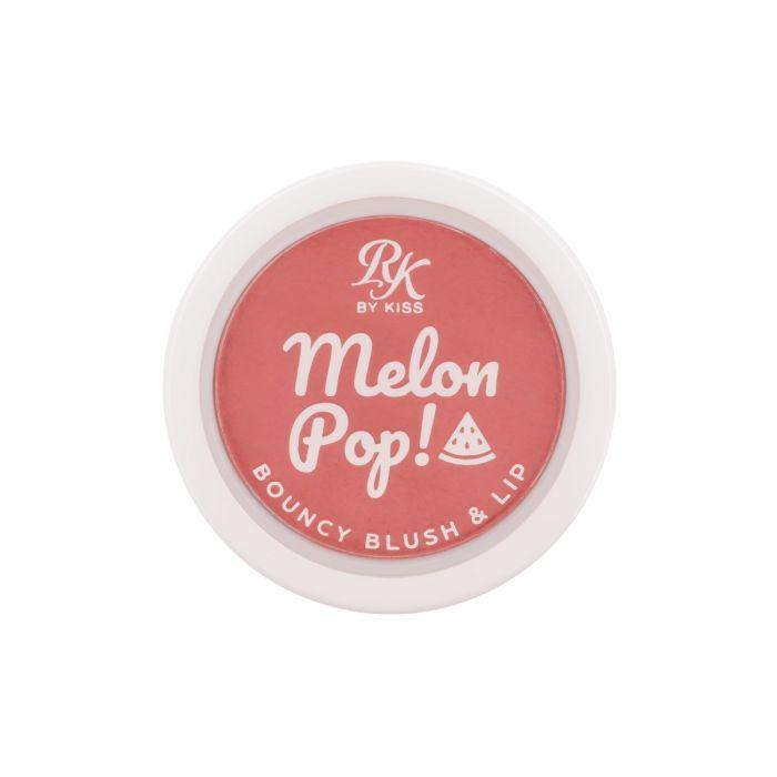 Blush Lip Cremoso Bouncy Melon Pop RK By Kiss 3g