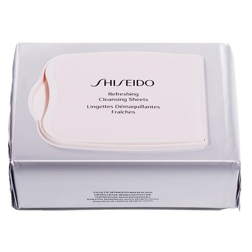 Lenço Demaquilante Refreshing Cleansing Sheets Shiseido 30 Un