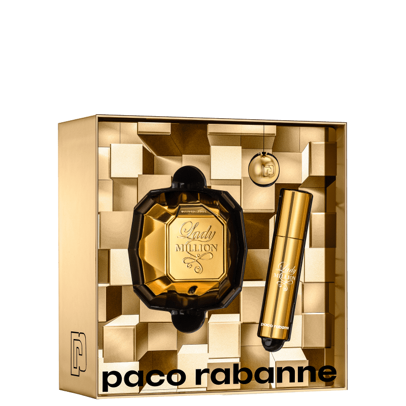 Kit Feminino Lady Million Paco Rabanne