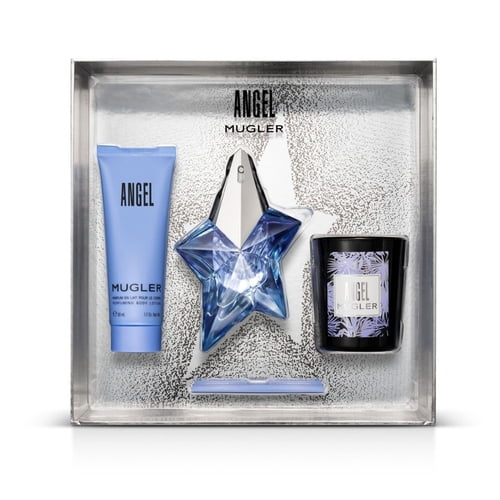 Kit Feminino Angel Mugler Eau de Parfum 25ml + Body Lotion Angel 50ml + Angel 70g