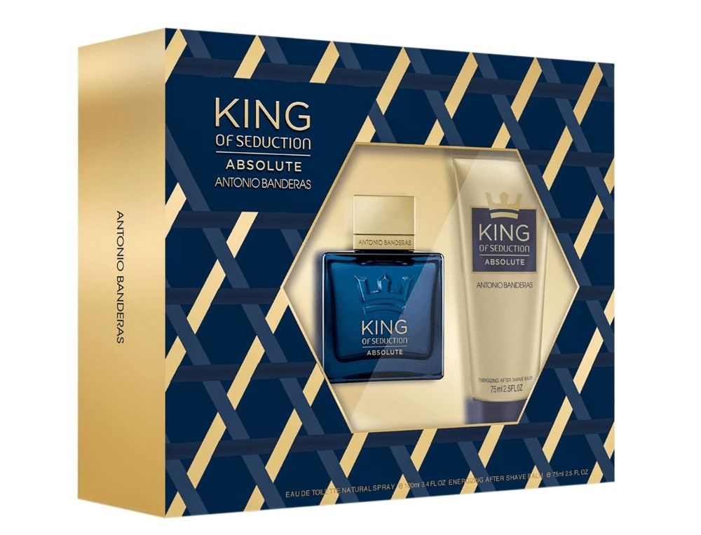 Kit Masculino King Of Seduction Absolute Antonio Banderas