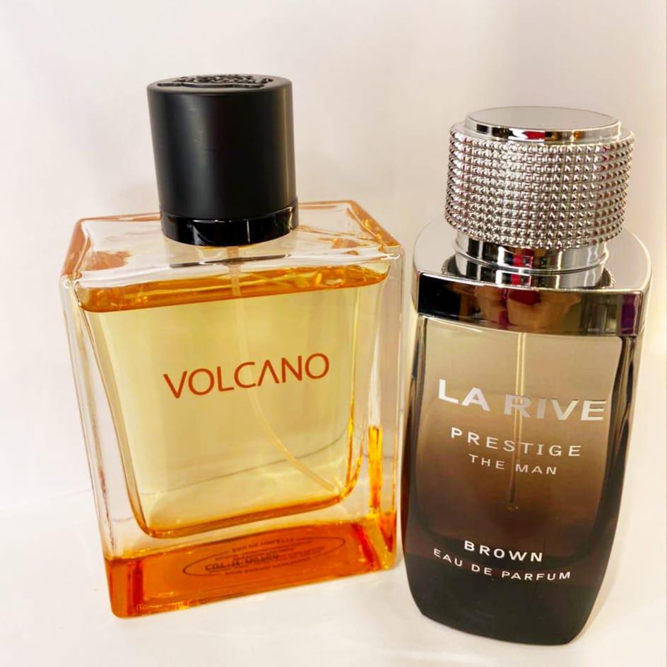 Kit Masculino Prestige Brown The Man La Rive + Volcano New Brand