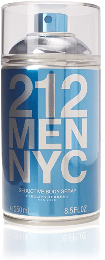 Body Spray Masculino 212 NYC Men Carolina Herrera