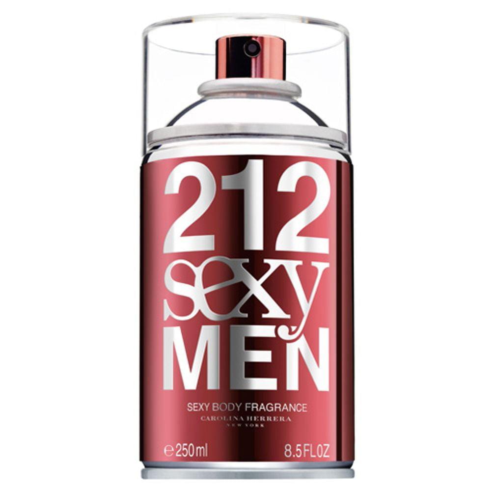 Body Spray Masculino 212 NYC Sexy Men Carolina Herrera