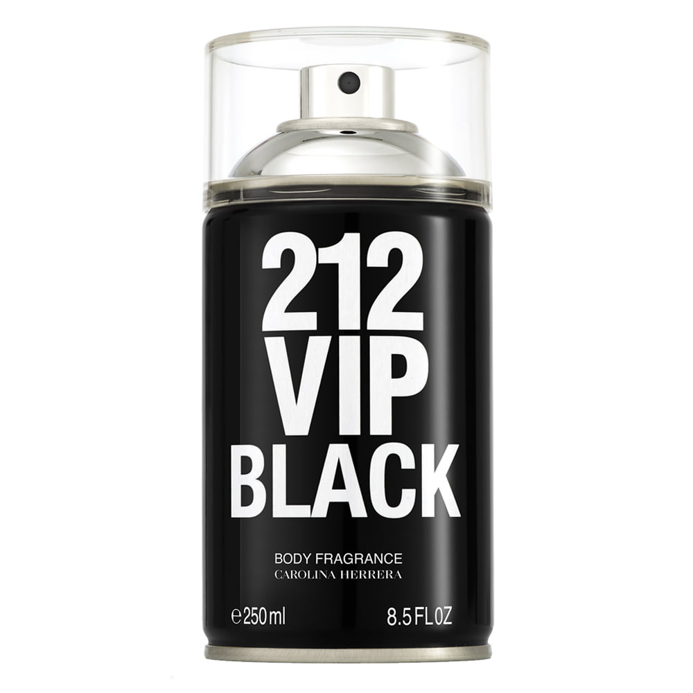 Body Spray Masculino 212 VIP Black Carolina Herrera