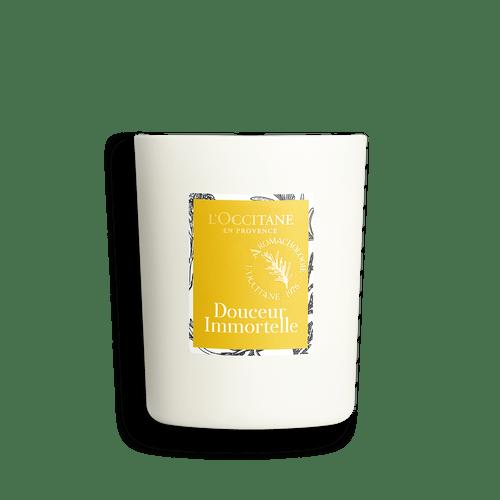 Vela Perfumada Positivant Douceur Immortelle L'Occitane En Provence 140g