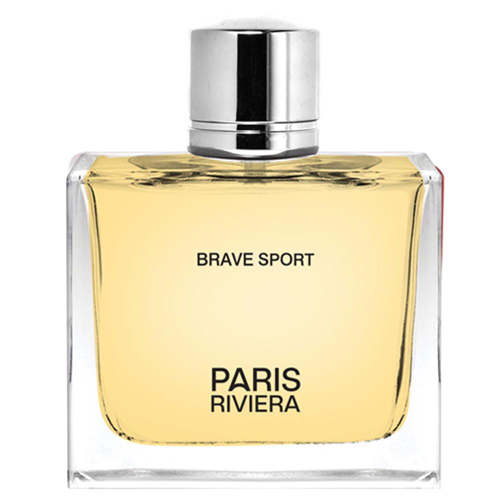 Perfume Masculino Brave Sport Pour Homme Paris Riviera Eau de Toilette