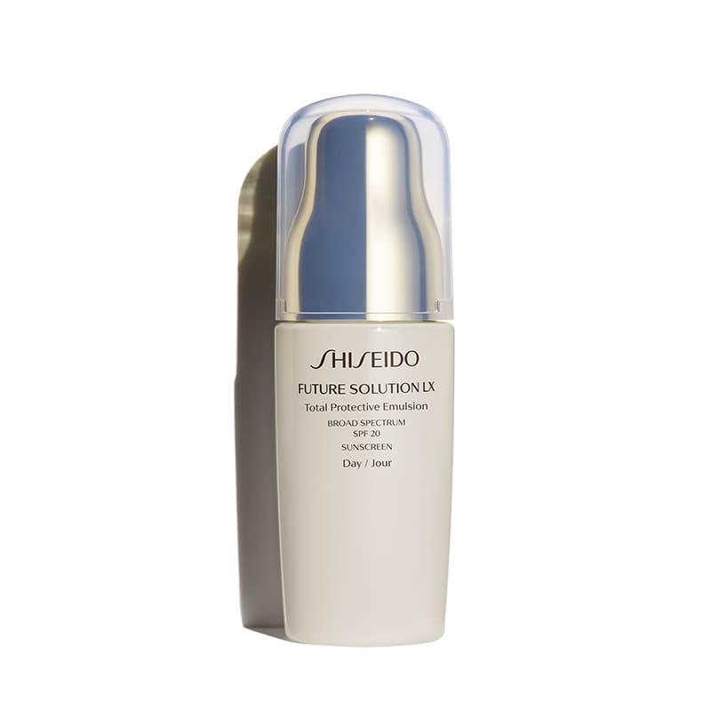 Emulsão Hidratante Facial Future Solution LX Total Protective Emulsion SPF 20 PA+++ Shiseido