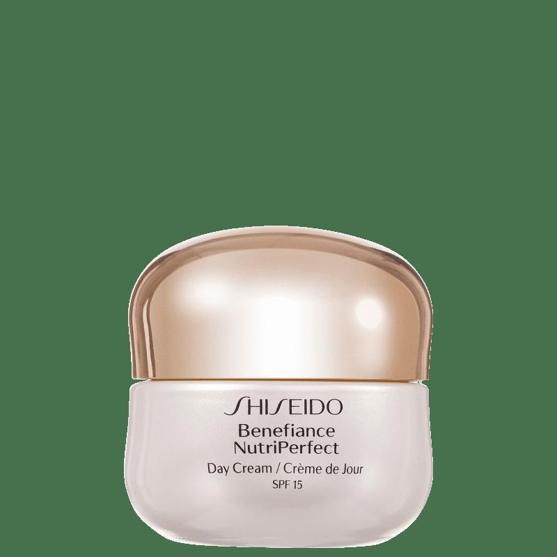 Creme Anti-Idade Diurno Benefiance NutriPerfect Day Cream SPF 15 PA++ Shiseido