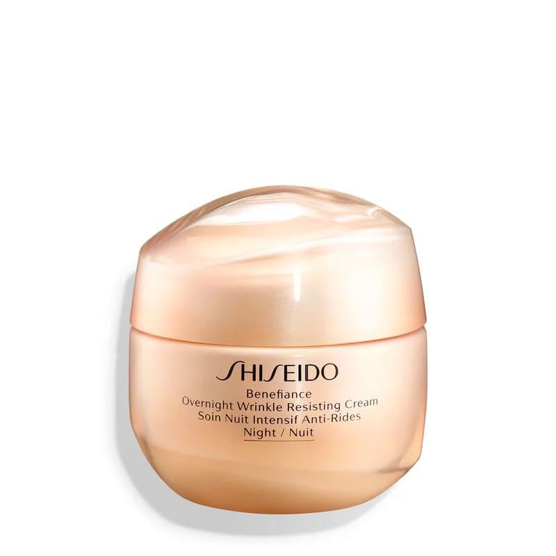 Creme Facial Noturno Antirrugas Benefiance Overnight Wrinkle Resisting Cream Shiseido