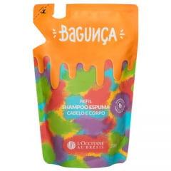 Shampoo Espuma Refil Bagunça L'Occitane Au Brésil