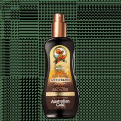 Spray Acelerador de Bronzeado Dark Tanning com Instante Bronzer Australian Gold