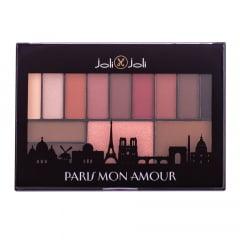 Paleta de Maquiagem Paris Mon Amour Joli Joli