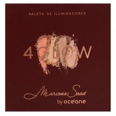 Paleta de Iluminadores 4 Glow Mariana Saad Océane 16g