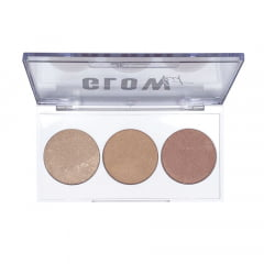 Paleta de Iluminador Glow Kit Luv Beauty 7,5g