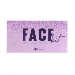 Paleta Multifuncional Face Kit Luv Beauty 7,5g