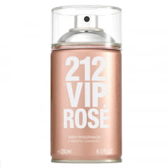 Body Spray Feminino 212 VIP Rosé Carolina Herrera
