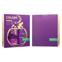 Kit Feminino Perfume Colors Purple Eau de Toilette + Desodorante Colors Purple Benetton