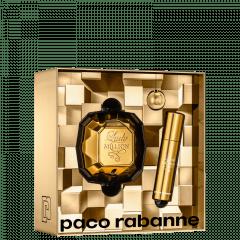 Kit Feminino Perfume Lady Million Eau de Parfum +  Travel Size Lady Million + Chaveiro Paco Rabanne