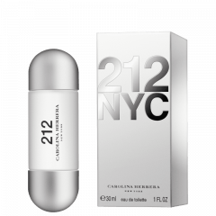 Perfume Feminino 212 NYC Carolina Herrera Eau de Toilette