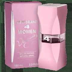 Perfume Feminino 4 Women Delicious New Brand Eau de Parfum