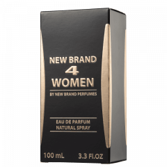 Perfume Feminino 4 Women New Brand Eau de Parfum