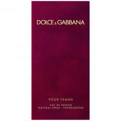 Perfume Feminino Dolce & Gabbana Pour Femme Eau de Parfum