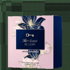 Perfume Feminino Her Secret Bloom Antonio Banderas Eau de Toilette