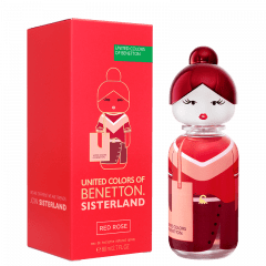 Perfume Feminino Sisterland Red Rose Benetton Eau de Toilette