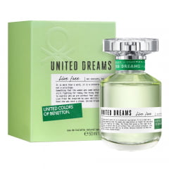 Perfume Feminino United Dreams Live Free Benetton