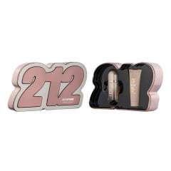 Kit Feminino 212 Vip Rosé Carolina Herrera