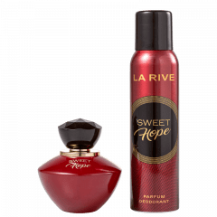 Kit Feminino Perfume Sweet Hope Eau de Parfum + Desodorante Sweet Hope La Rive