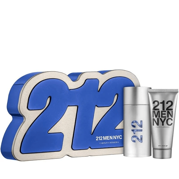 Kit Masculino 212 Men NYC Carolina Herrera