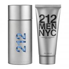 Kit Masculino 212 Men NYC Carolina Herrera