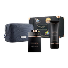 Kit Masculino Bvlgari Man In Black Bvlgari