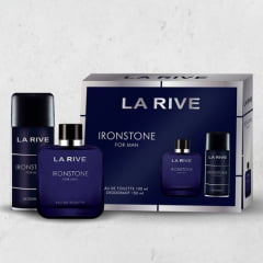 Kit Masculino Perfume Ironstone Eau de Toilette + Desodorante Ironstone La Rive