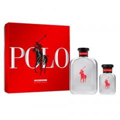 Kit Masculino Perfume Polo Red Rush Eau de Toilette + Miniatura Polo Red Rush Eau de Toilette Ralph Lauren
