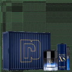 Kit Masculino Perfume Pure XS Eau de Toilette + Travel Size Pure XS Eau de Toilette + Desodorante Pure XS Paco Rabanne