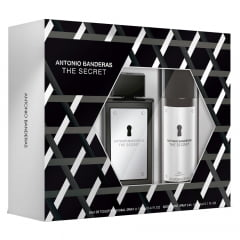 Kit Masculino Perfume The Secret Eau de Toilette + Desodorante The Secret Antonio Banderas
