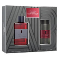 Kit Masculino The Secret Temptation Antonio Banderas